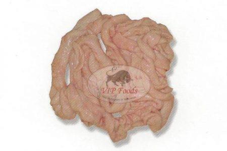 Свински черва, дебели